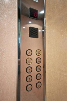1 - Pulsantiera per cabina ascensore