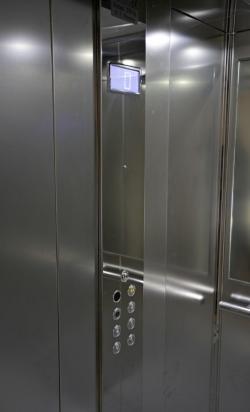 4 - Pulsantiera per cabina di piattaforma elevatrice automatica