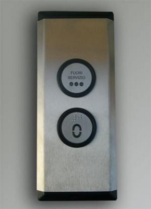 1 - Pulsantiera di piano per ascensore