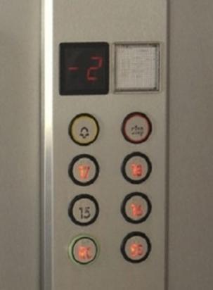 7 - Pulsantiera per cabina ascensore